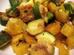 Zucchini and Gold Beets 4