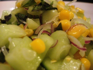 Cucumber-Sweetcorn Relish 5