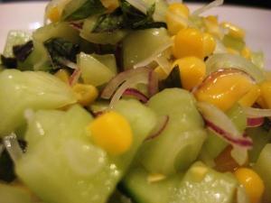 Cucumber-Sweetcorn Relish 5
